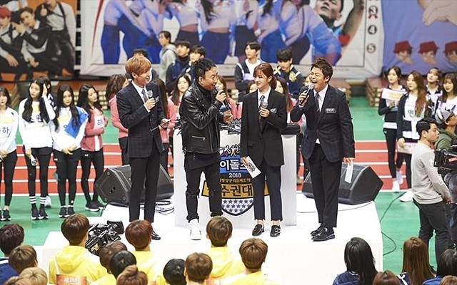 Idol Star Athletics Championships v roku 2018