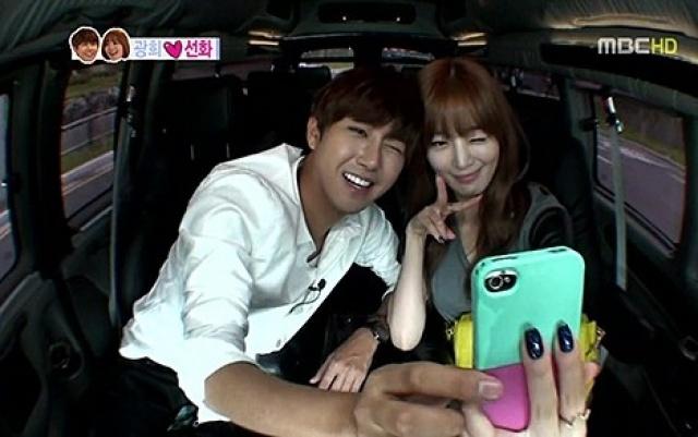 """Sun Hwa a Kwang Hee v """"We Got Married"""""""