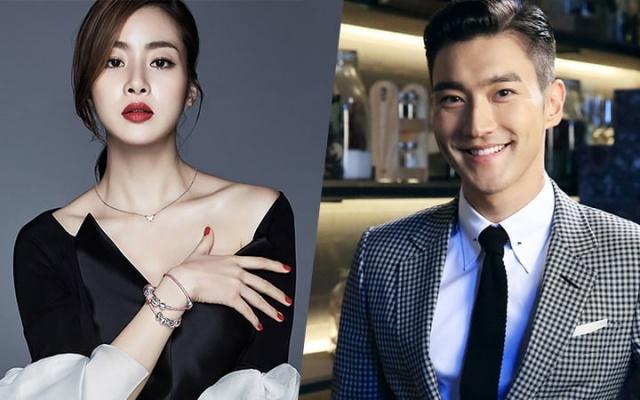 Kang So Ra a Siwon