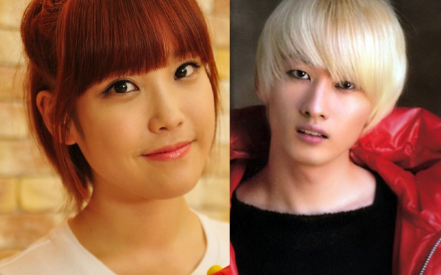 IU a Eunhyuk zo Super Junior