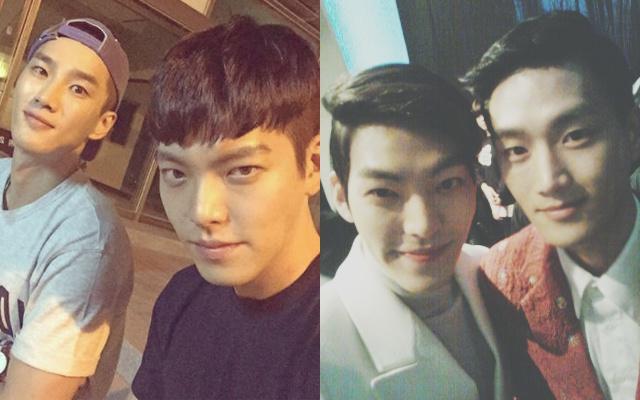Ahn Bo Hyun a Kim Woo Bin