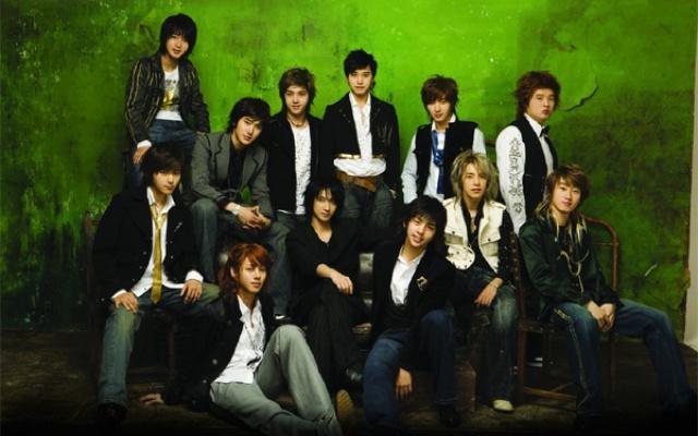 Super Junior v dobách svého debutu