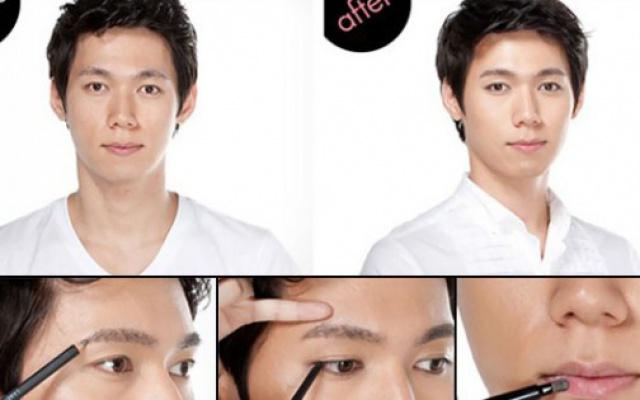 Muži v Južnej Kórei sa za používanie make-upu nehanbia
