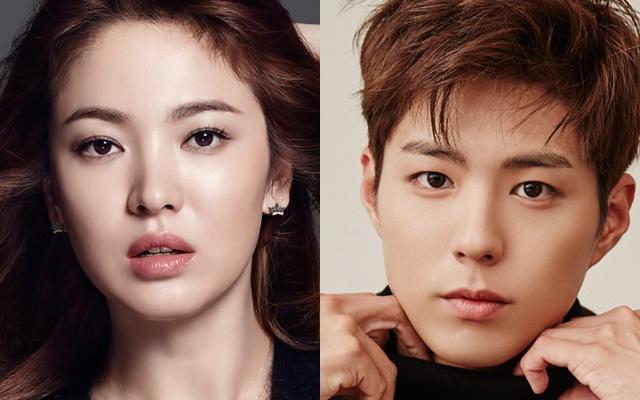 Song Hye Kyo a Park Bo Gum