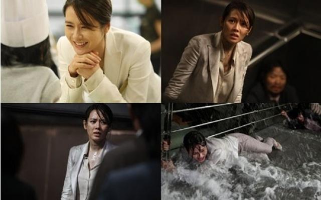 """Son Ye Jin při natáčení """"The Tower"""""""