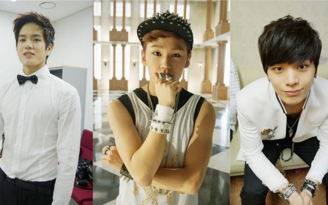 (z leva) Peniel, Ilhoon, Sungjae