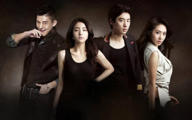 "Poster k TV drama ""Fashion King"""
