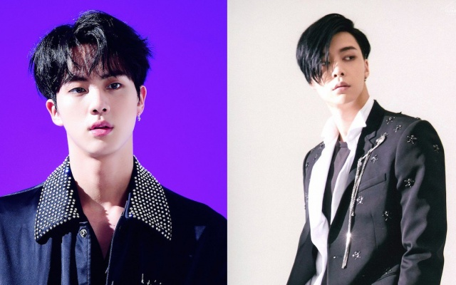 BTS Jin, NCT Johnny