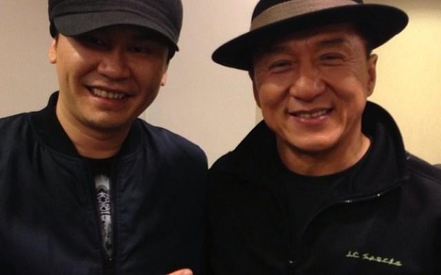 Yang Hyun Suk a Jackie Chan