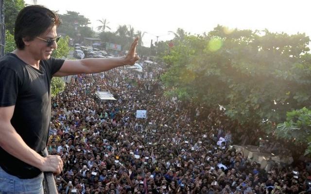 Shah Rukh a fanoušci