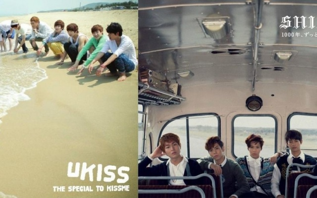 U-KISS a SHINee albumy