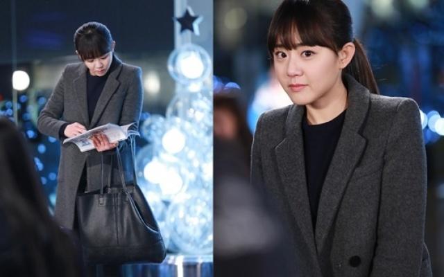 Moon Geun Young listuje ve scénáři