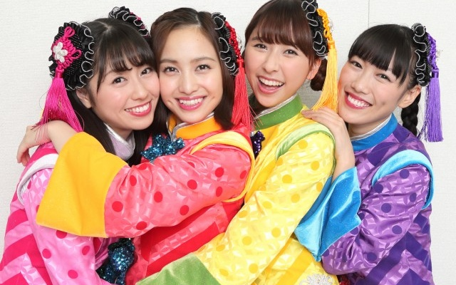 Japonská dievčenská idol skupina Momoiro Clover Z