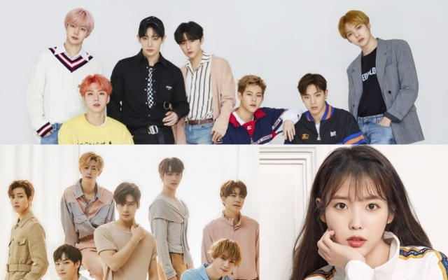 MONSTA X & GOT7 & IU