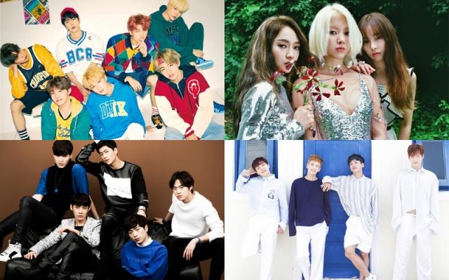 BTS, LADIES′ CODE, 5urprise, AlphaBAT