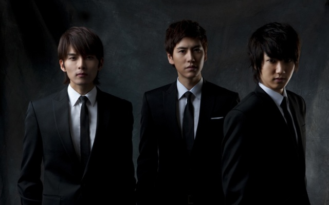 Super Junior KRY, zleva: Ryeowook, Kyuhyun, Yesung