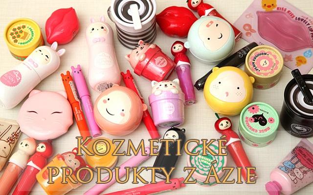 Kozmetické produkty z Ázie