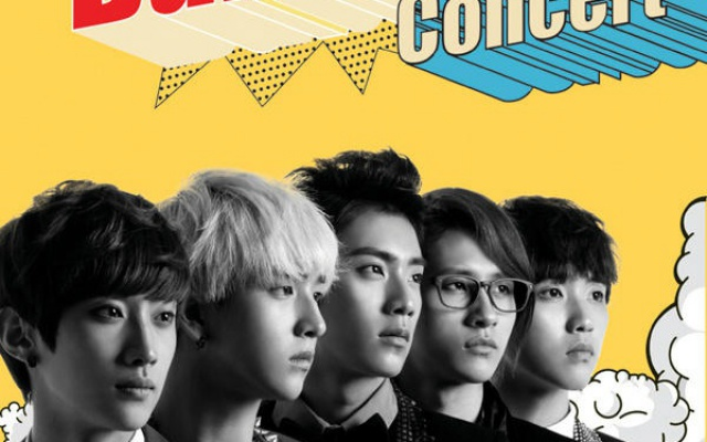 Poster k BABA koncertu