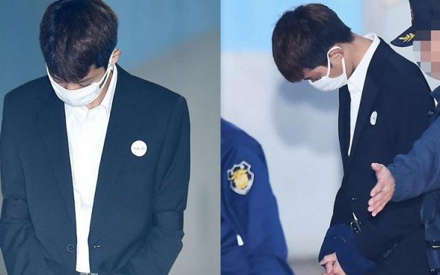Jung Joon Young před soudem