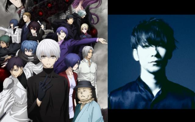 Japonský spevák TK a anime Tokyo Ghoul:re 2