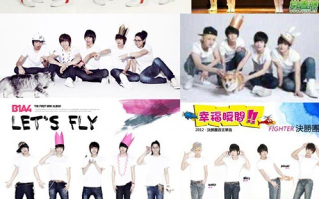 Čínska skupina kopíruje B1A4