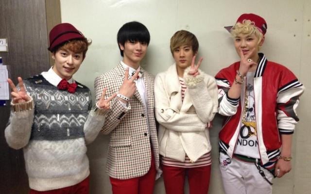 Zelo, Sungjae, Donghyun & Chunji