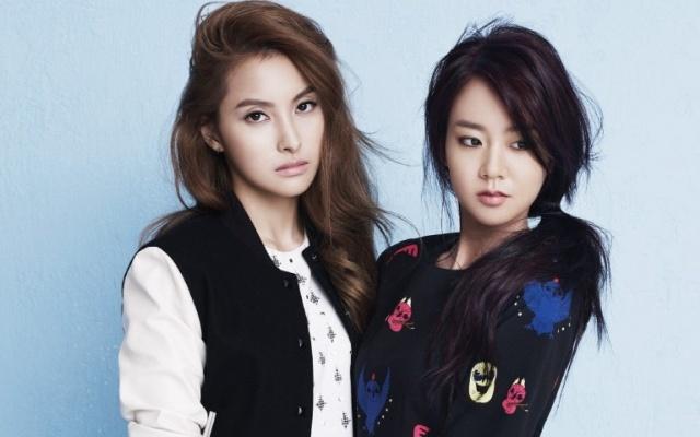 Gyuri a Seungyeon