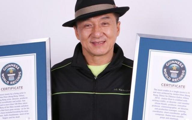 Jackie Chan s GWR certifikáty