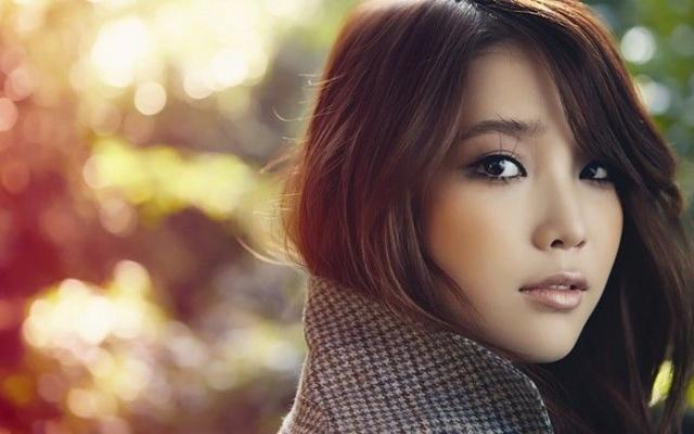 Kórejská speváčka a herečka IU