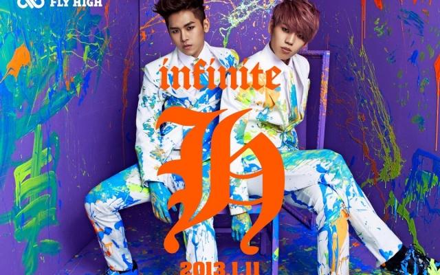 promo fotka obou členů přidaná na oficiální stránky Woollim Entertainment