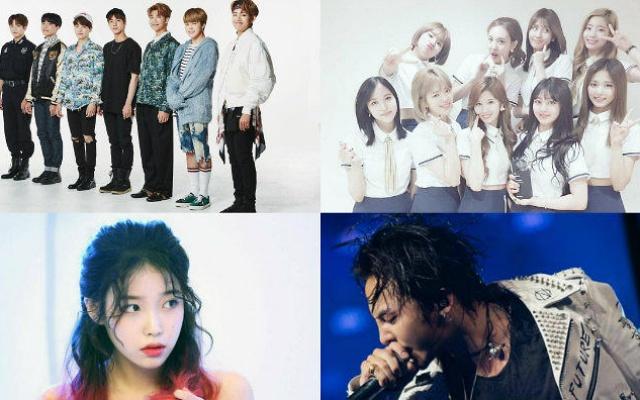 Najvplyvnejší umelci k-popu podľa CEOs