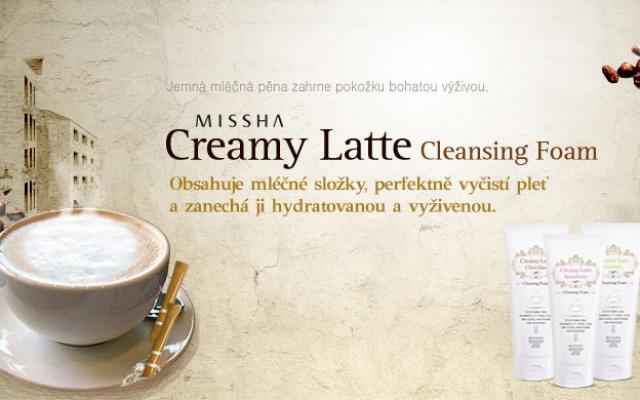 Missha Creamy Greentea Latte Foam