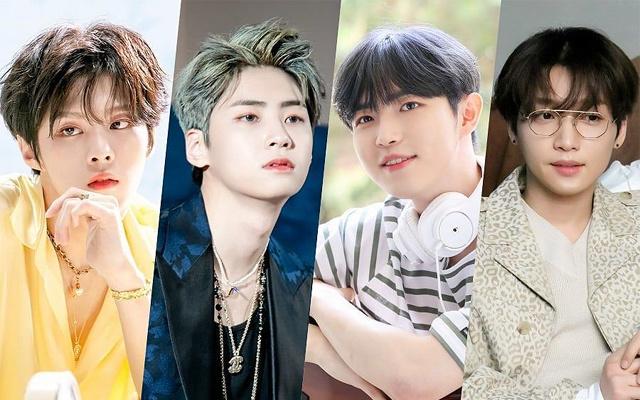 Kim Wooseok, Lee Jinhyuk, Kim Jaehwan, Jeong Sewoon