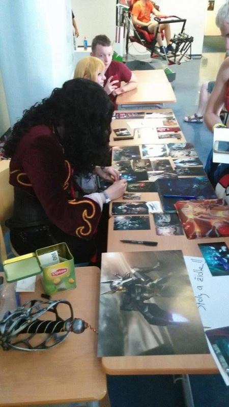 Prodávání cosplay printů